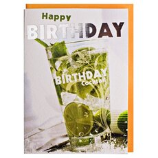 Happy Birthday Card Cocktail