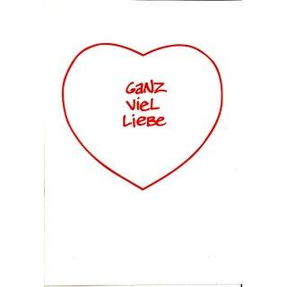 gru karte ganz viel liebe romantisches treffen auf der br cke b rchen. Black Bedroom Furniture Sets. Home Design Ideas