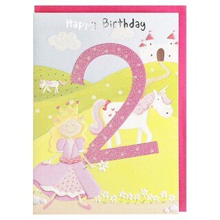 Zahlen - Geburtstagskarte 25 geburtstag ...