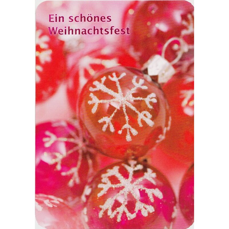 weihnachtskarte ein sch nes weihnachtsfest rote. Black Bedroom Furniture Sets. Home Design Ideas