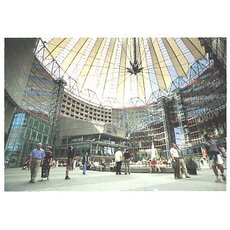 Postkarte Berlin, Sony Center am Potsdamer Platz