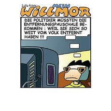 Cartoon Postkarte Mein Willmor No.12