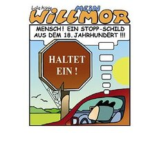 Cartoon Postkarte Mein Willmor No.11