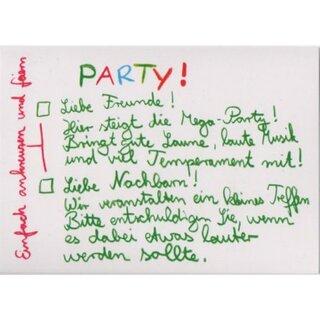 lustige party-einladung, Einladung