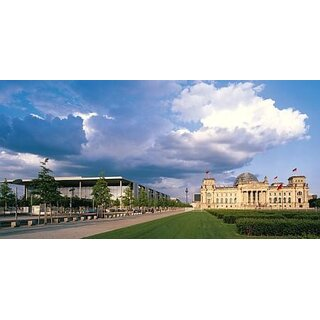 xxl postkarte berlin paul l be haus reichstagsgeb ude. Black Bedroom Furniture Sets. Home Design Ideas
