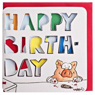 Funny Birthday Card DIY