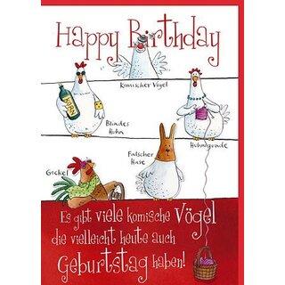 Geburtstag karte witzig