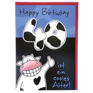 Geburtstagsspruch Zum 40. Geburtstag Lustig