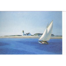 Kunstkarte Edward Hopper: The Long Leg
